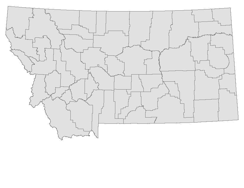 Map of montana A-Affordable bail bonds